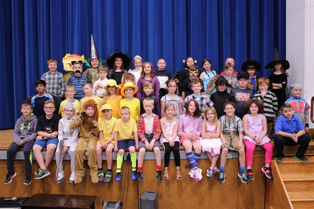 Cast of 3rd Grade Play