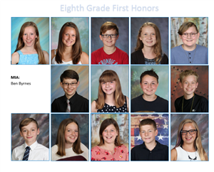 Eighth Grade First