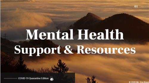 Mental Health Support & Resources