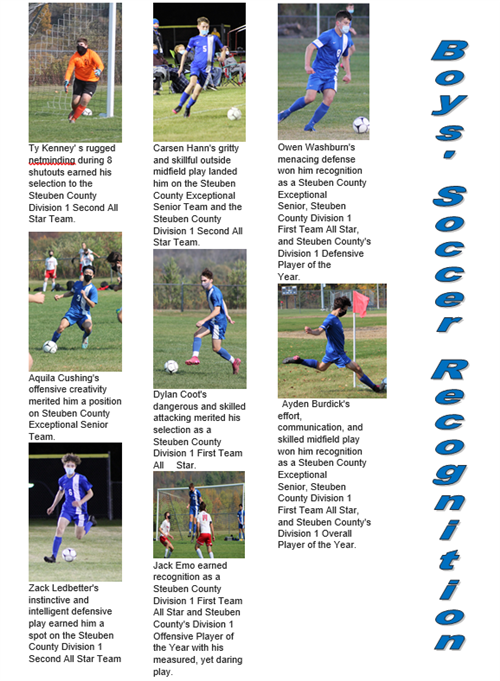 Soccer Boys Recognition